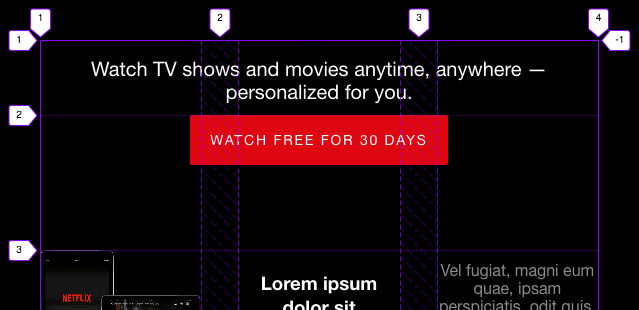 Netflix Homepage module - CSS Makeovers